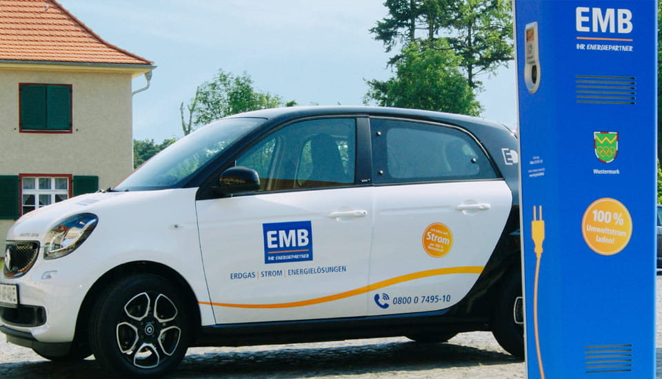 E-Mobilität, powered by EMB